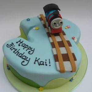 Thomas Number 3 Cake