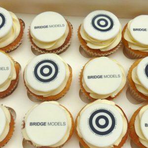 Bespoke Logo Cupcakes